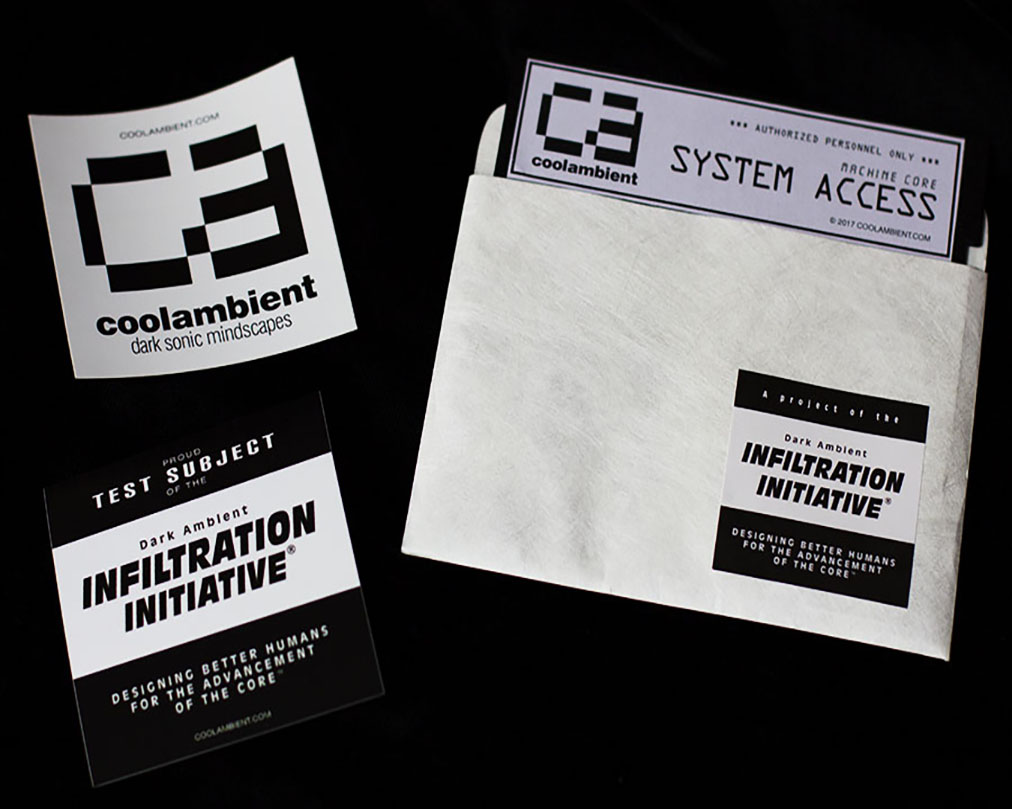 Stickers and Software Diskette