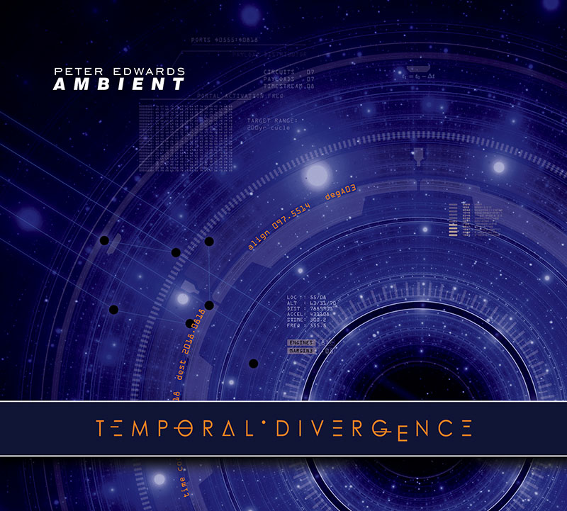 Temporal Divergence dark ambient music album